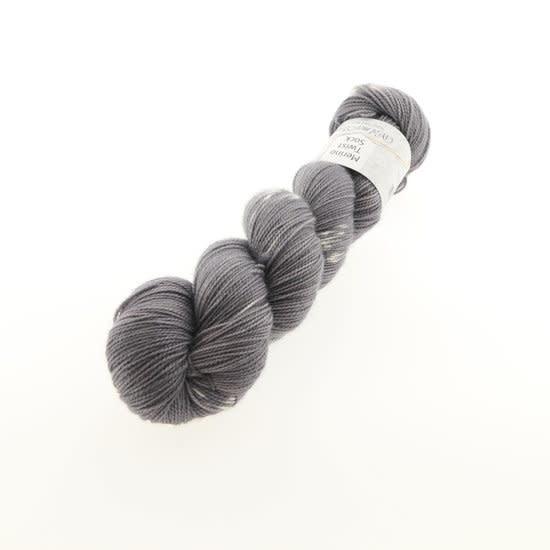 Wol met Verve Wol met Verve Merino Twist Sock - Tie Dye Quiet Shade