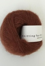 knitting for olive Knitting for Olive Silk Mohair - New Rust