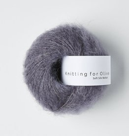 knitting for olive Knitting for Olive Silk Mohair - Dusty Violet