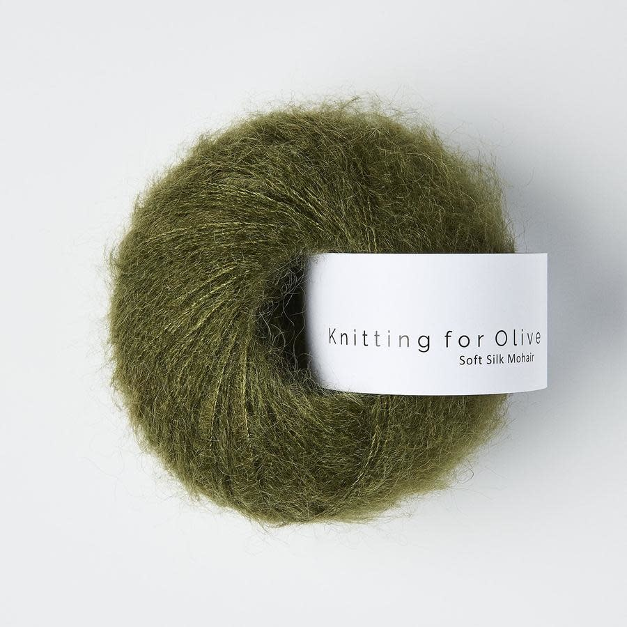 knitting for olive Knitting for Olive Silk Mohair - Slate Green