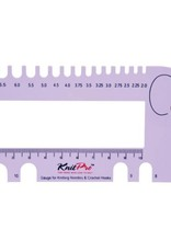 KnitPro Knitpro Naalddiktemeter