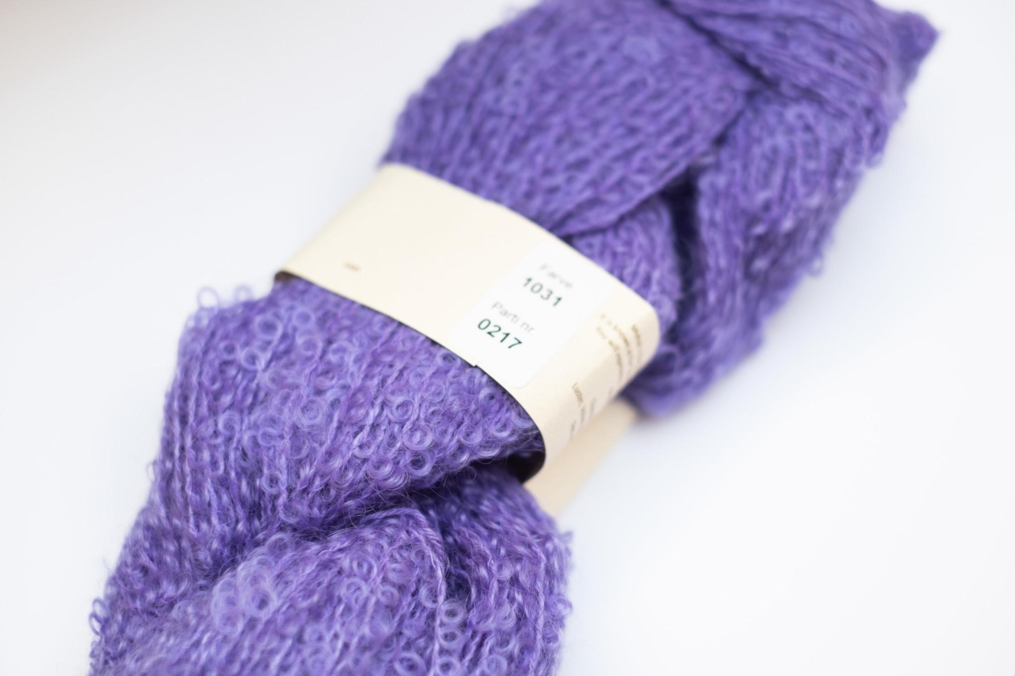 Mohair By Canard Mohair By Canard bouclé - Lavendel 1031