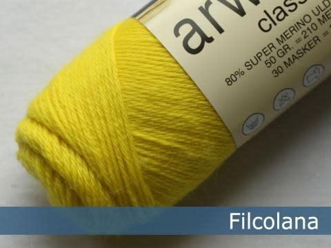 Filcolana Filcolana Arwetta - Electric Yellow 251