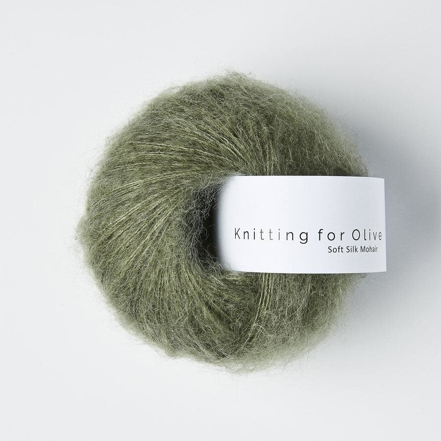 knitting for olive Knitting for Olive Silk Mohair - Dusty Sea Green