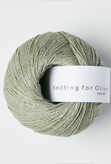knitting for olive Knitting for Olive Pure Silk - Dusty Artichoke