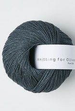 knitting for olive Knitting for Olive Pure Silk - Deep Petroleum Blue