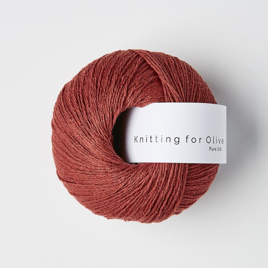 knitting for olive Knitting for Olive Pure Silk - Gooseberry Red