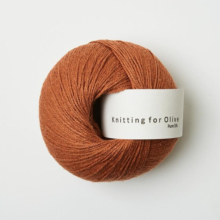knitting for olive Knitting for Olive Pure Silk - Copper