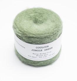 Solid Solid Huarizo Brushed - Jungle Green