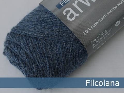 Filcolana Filcolana Arwetta - Jeans Blue 726