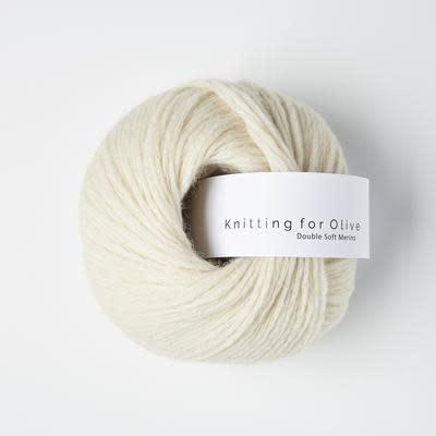 knitting for olive Knitting for Olive Double Soft Merino - White Lamb