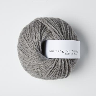 knitting for olive Knitting for Olive Double Soft Merino - Lead