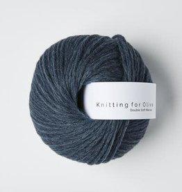 knitting for olive Knitting for Olive Double Soft Merino - Deep Petroleum Blue