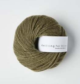 knitting for olive Knitting for Olive Double Soft Merino - Dusty Olive