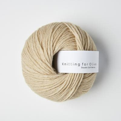 knitting for olive Knitting for Olive Double Soft Merino - Sand