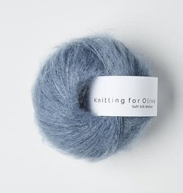 knitting for olive Knitting for Olive Silk Mohair - Dusty Dove Blue