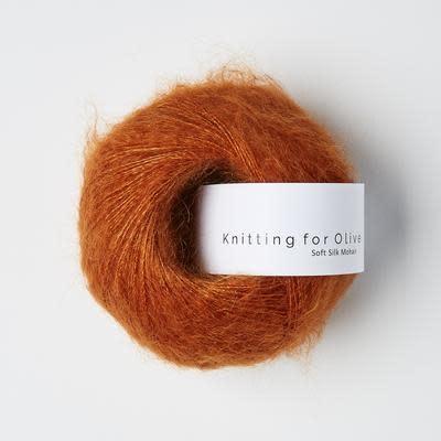 knitting for olive Knitting for Olive Silk Mohair - Burnt Orange