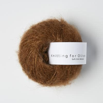 knitting for olive Knitting for Olive Silk Mohair - Dark Cognac