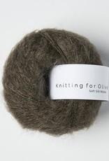 knitting for olive Knitting for Olive Silk Mohair - Dark Moose