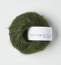 knitting for olive Knitting for Olive Silk Mohair - Bottle Green