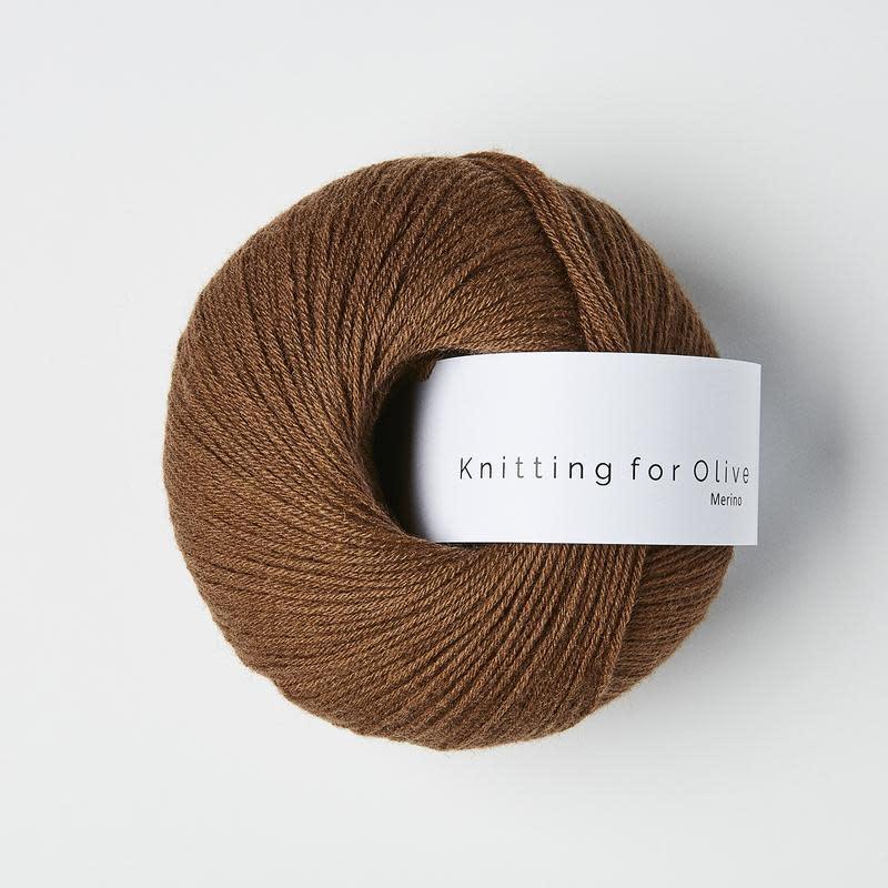 knitting for olive Knitting for Olive Merino - Dark Cognac