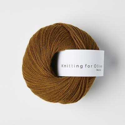 knitting for olive Knitting for Olive Merino - Ocher Brown