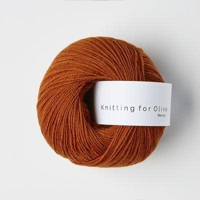 knitting for olive Knitting for Olive Merino - Burnt Orange