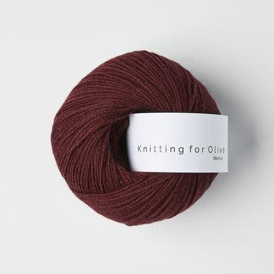 knitting for olive Knitting for Olive Merino - Bordeaux