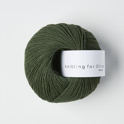 knitting for olive Knitting for Olive Merino - Bottle Green