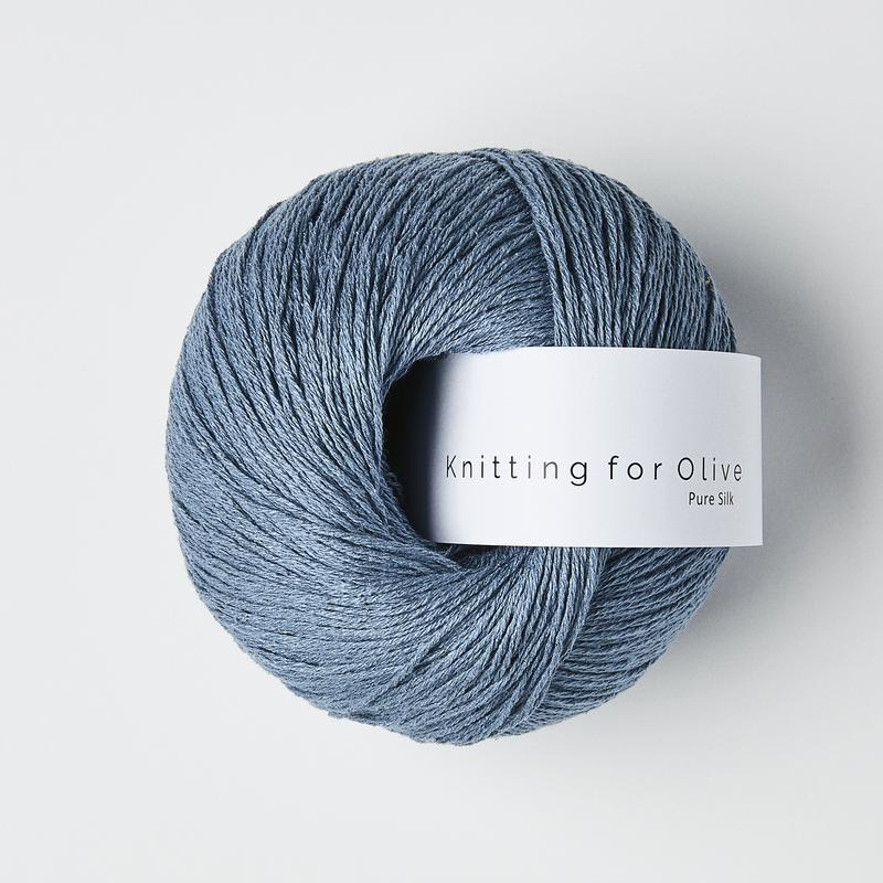 knitting for olive Knitting for Olive Pure Silk - Dove Blue