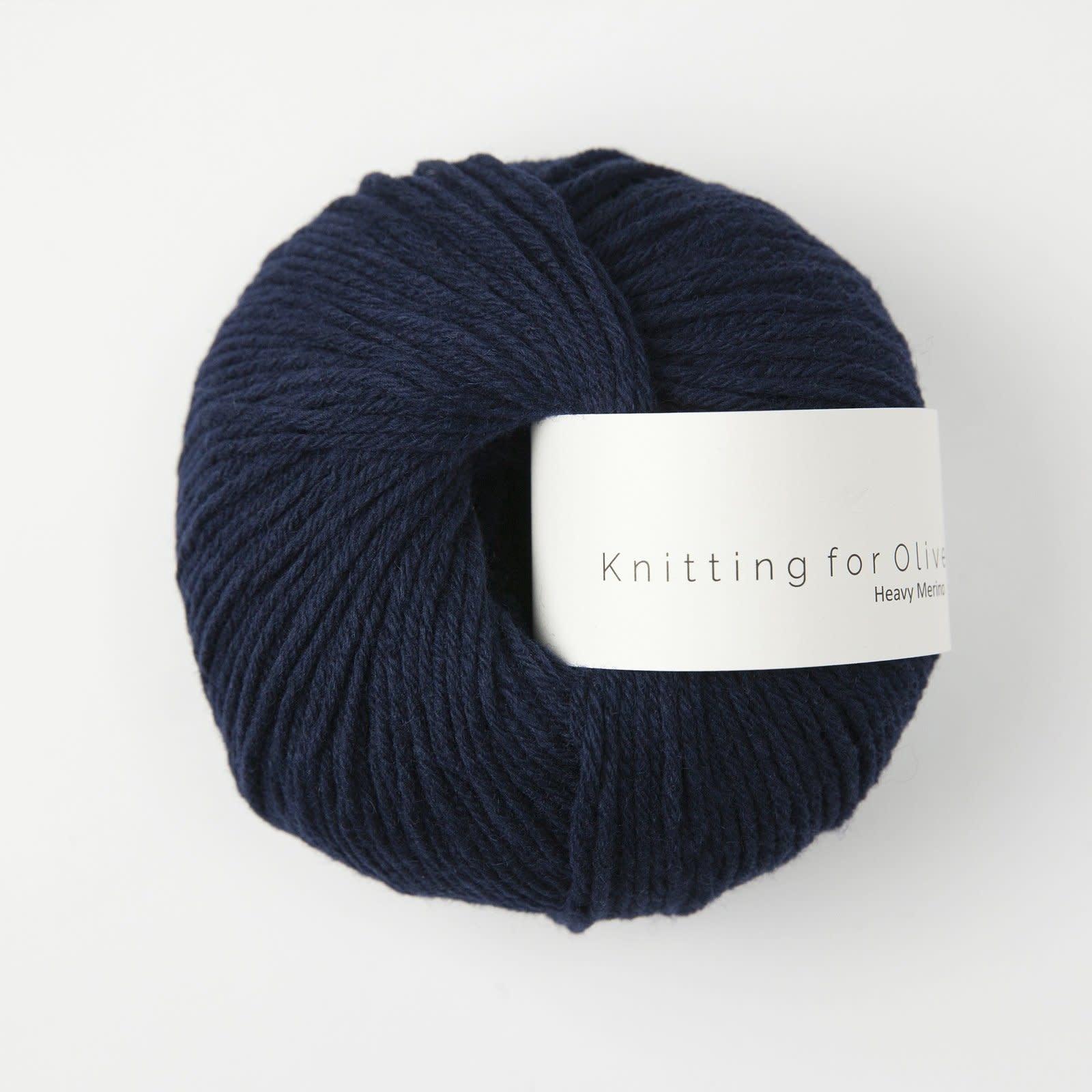 knitting for olive Knitting for Olive Heavy Merino - Navy Blue
