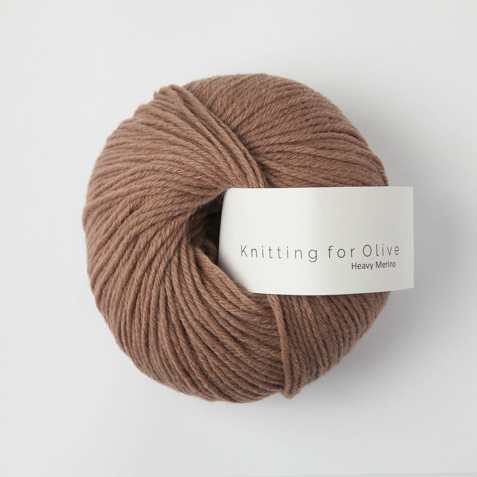 knitting for olive Knitting for Olive Heavy Merino - Brown Nougat