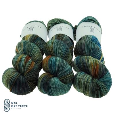 Wol met Verve Wol met Verve Merino Twist Sock - 0939