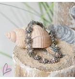 Zeeuws Echt zilveren Zeeuwse knop armband met kleine knopjes