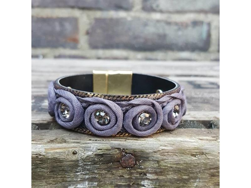 Biba Biba grijsblauwe armband