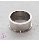 IXXXI basisring zilver 10mm