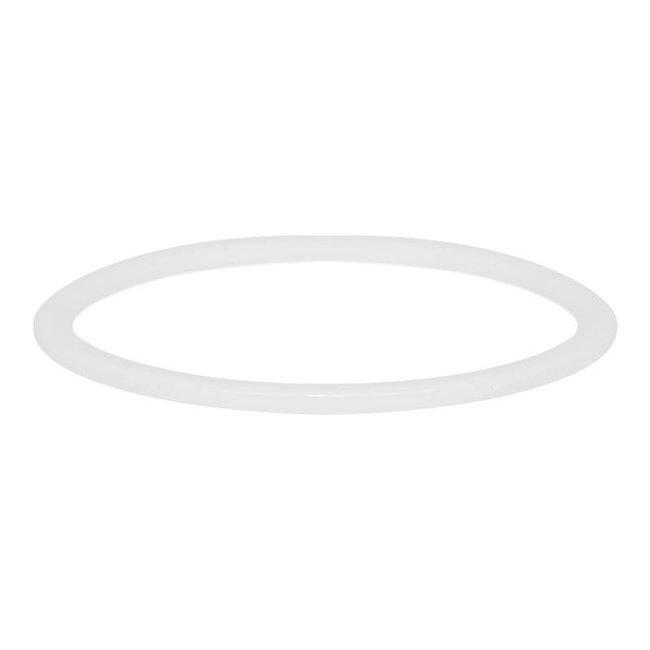 IXXXI aanschuif ring keramiek wit 1mm