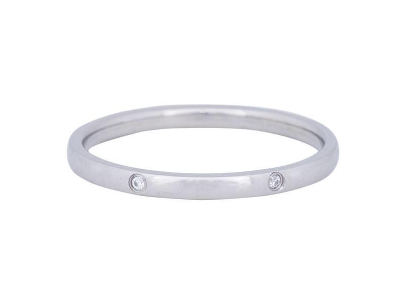 IXXXI aanschuif ring silver elegance