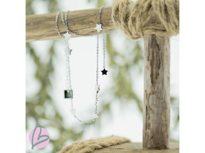 ZAG  Bijoux ketting met kleine sterretjes