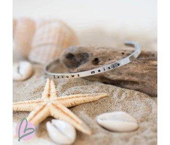 Zeeuws Zeeuws meisje stainless steel armband