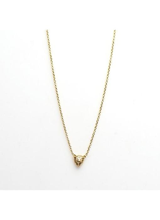 KARMA Karma Necklace Leopard Goldplated