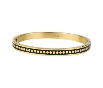 KalliKalli Bangle armband goud smal dots