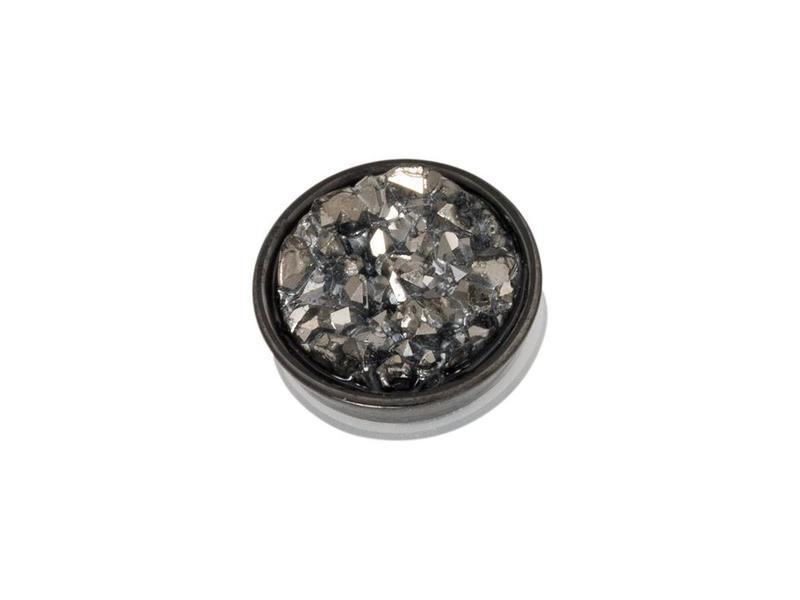 IXXXI top part drusy dark gray zwart