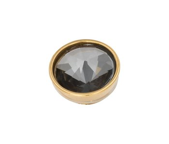 IXXXI top part pyramid black diamond goud