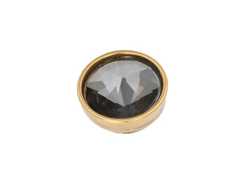 IXXXI top part pyramid black diamond goud