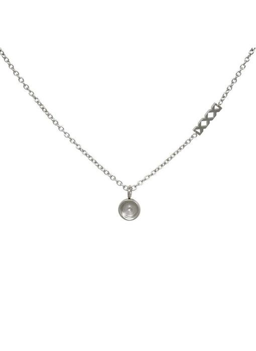 IXXXI Chain top part base ketting zilver