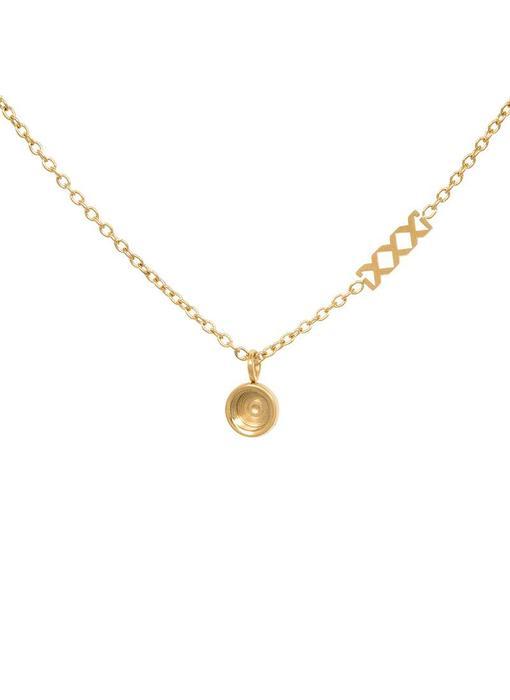 IXXXI Chain top part base ketting goud