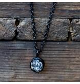 IXXXI top part drusy crystal zwart