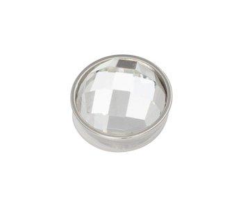 IXXXI top part  crystal zilver