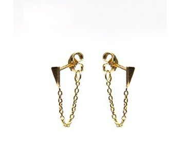 KARMA Chain Mini Cone Goldplated